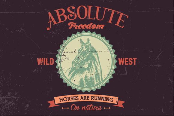 Absolute Freedom Logo Label