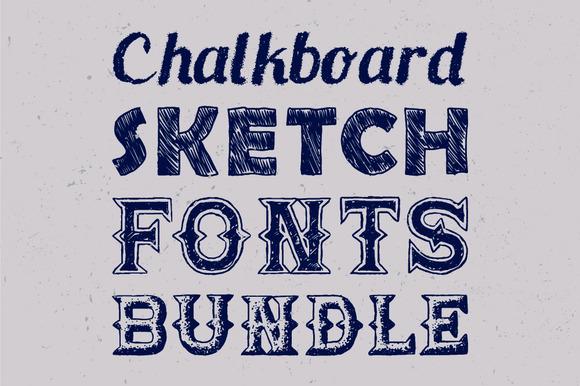 Sketch Fonts Bundle