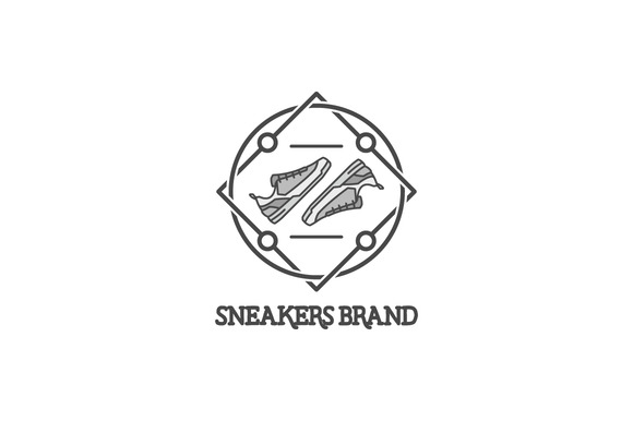 Vector Linear Sneakers Labels