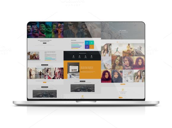 Modern HTML Themes Sevens Themes