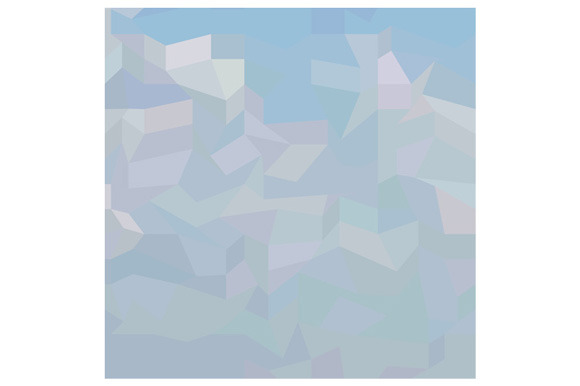 Blue Haze Abstract Low Polygon Backg