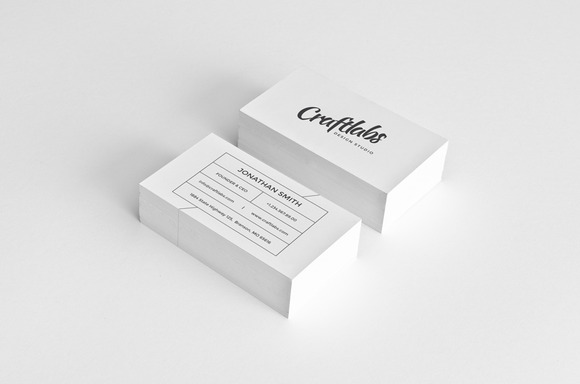 Simple Modern Business Card 14