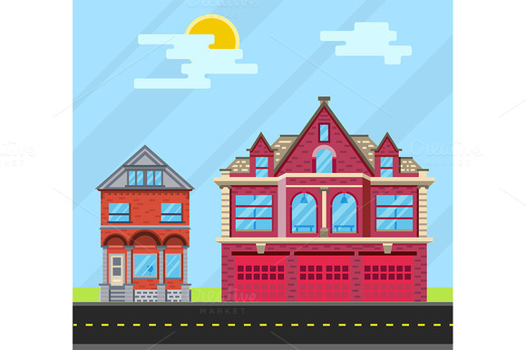 Set Buildings House