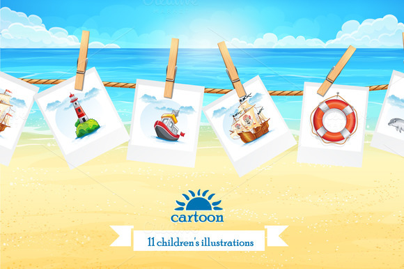 Set Of Children S Illustration Vol.2