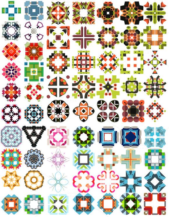 Big Vector Patterns Set