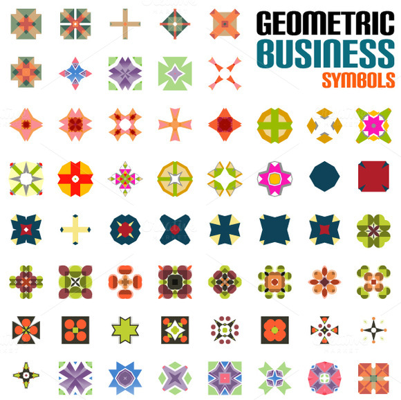 Geometric Symbols Collection