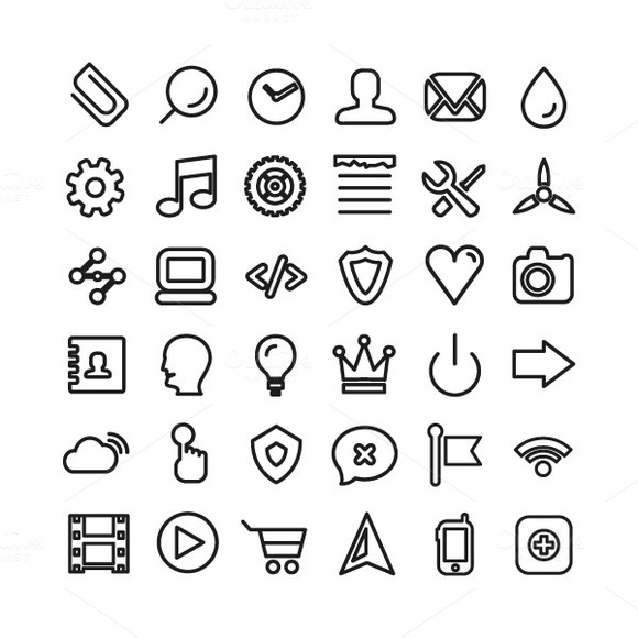 Universal Web Icons Collection