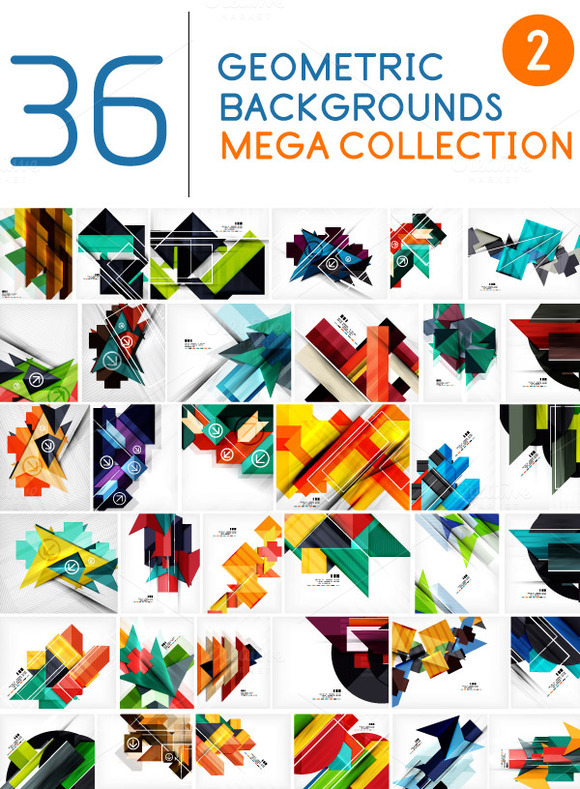 Abstract Backgrounds Mega Collection