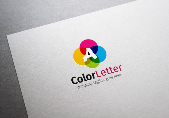 Color Letter Logo