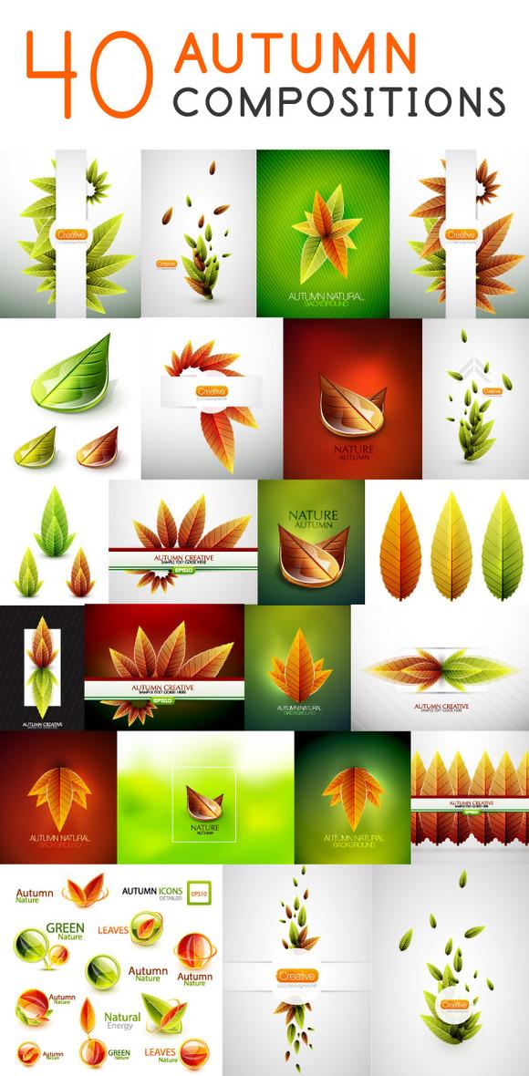 40 Autumn Compositions