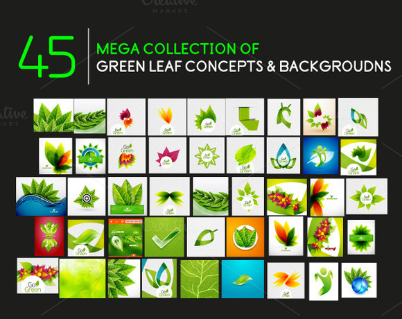 Green Leaf Mega Collection