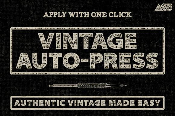 Vintage Auto-Press