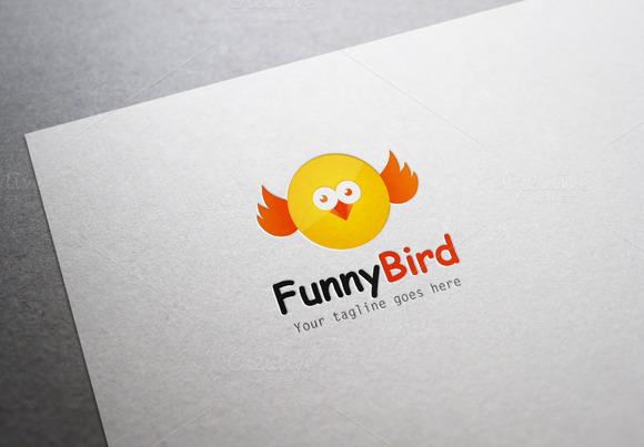 Funny Bird Logo