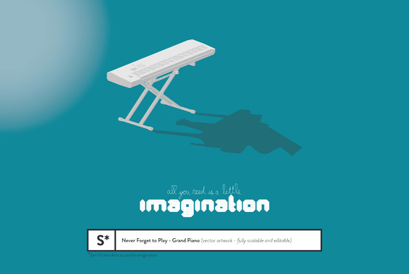 Imagination Grand Piano