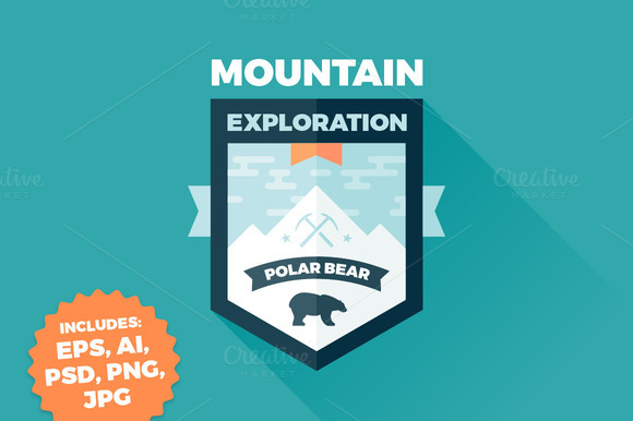 Mountain Bear Badge
