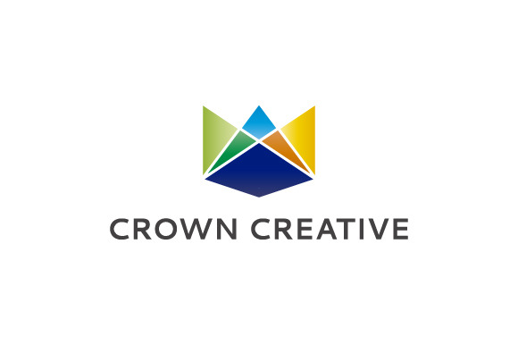 Crown Creative Abstract Logo