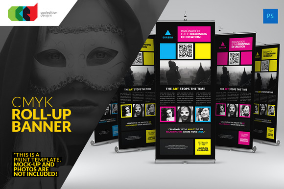 CMYK Pro Roll-Up Banner