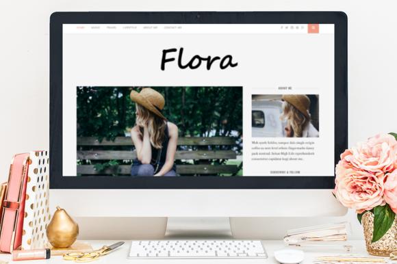 Flora A Responsive WordPress Theme