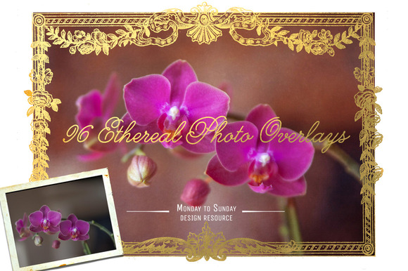 96 Ethereal Overlays- Photo Pretties