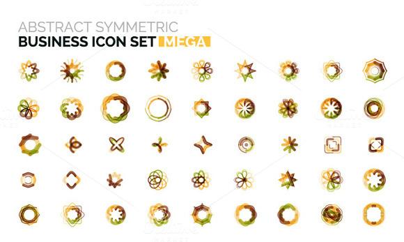 Mega Business Icons Set 1