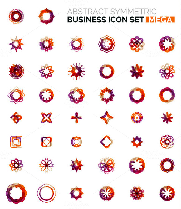 Mega Business Icons Set 5