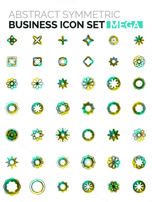 Mega Business Icons Set 6