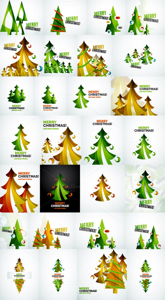 Christmas Tree Designs Collection 2