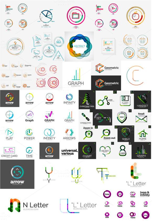Company Logo Designs Set 1