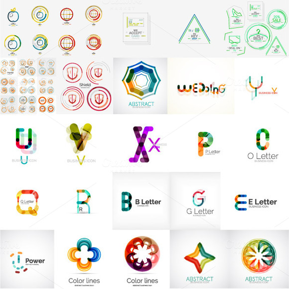 Company Logo Designs Set 7