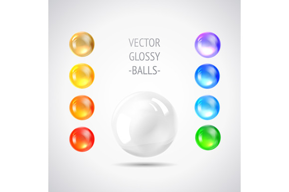 Holiday Gem Set Of Balls