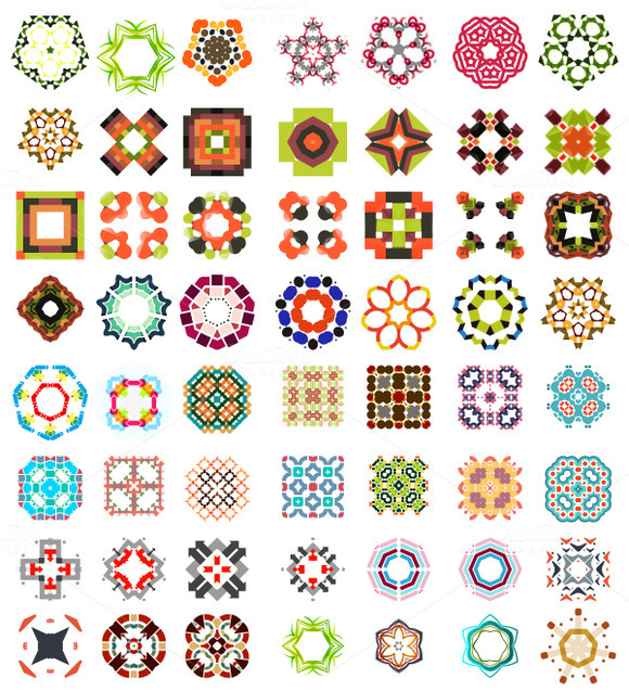 Abstract Vector Patterns Set 1