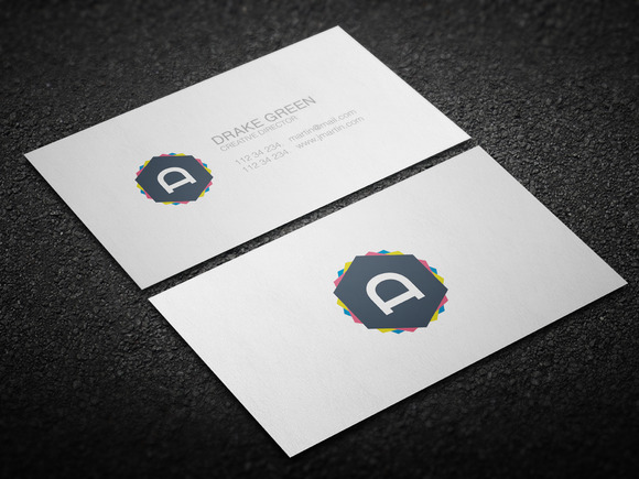 Minimalistic Clean Business Card