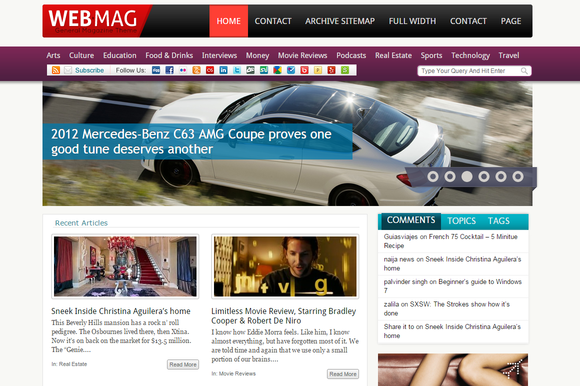 WebMag General Magazine WP Theme