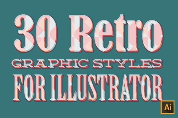 30 Retro Graphic Styles