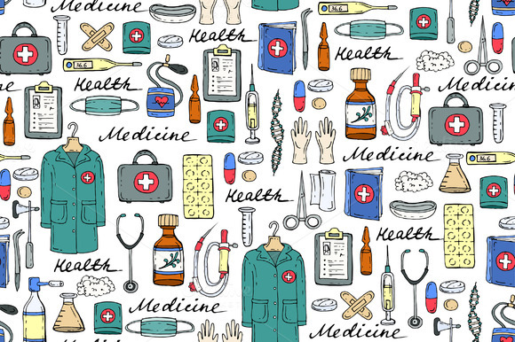 Pattern On The Theme Of Medicine