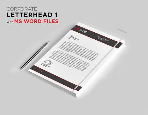 Letterhead 2 With MS Word File