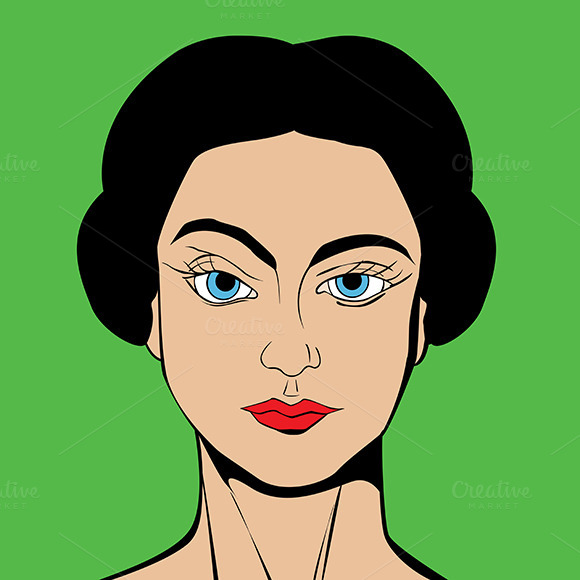Pop Art Vector Avatar