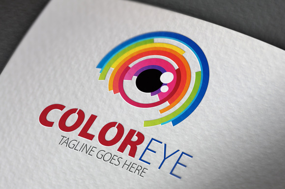 Color Eye Logo