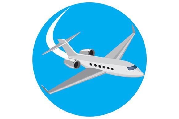Commercial Light Passenger Airplane