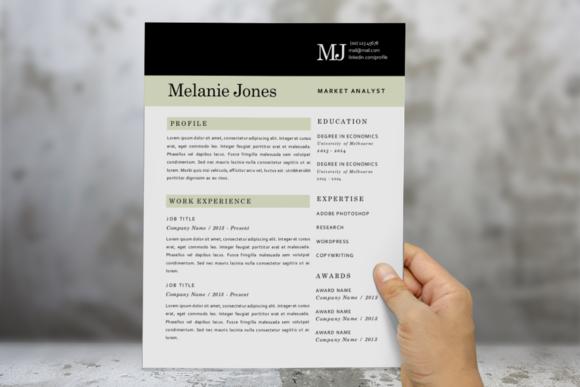 3 In 1 Modern Resume