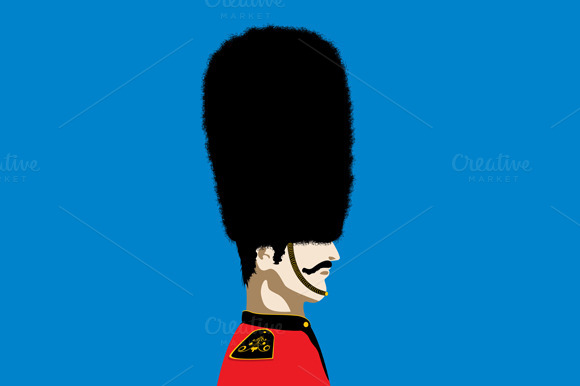 Vector Beefeater