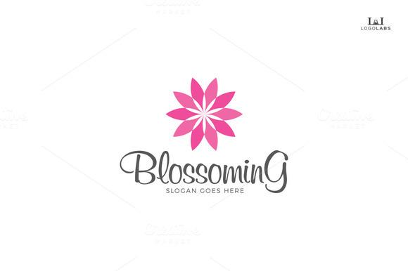 Blossoming Flower Logo