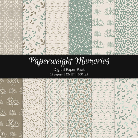 Patterned Paper Everything Changes