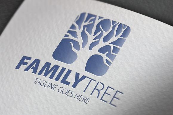 Family Tree V2 Logo
