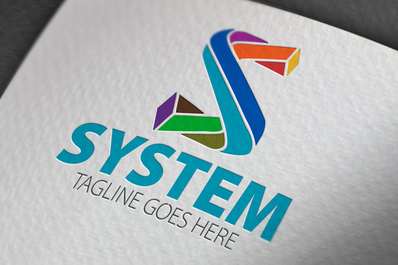 System S Letter Logo