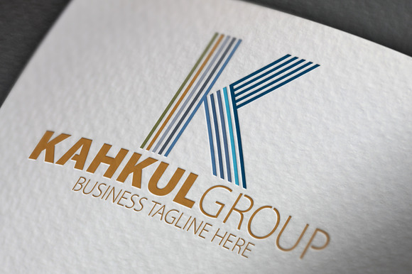 Kahkul Group K Letter Logo