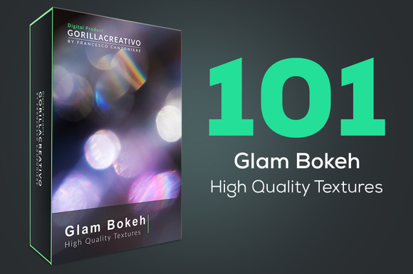 Glam Bokeh High Quality Textures