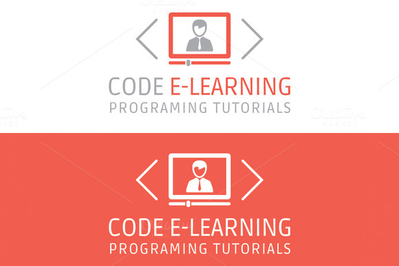Code E-Learning Video Tutorials Logo