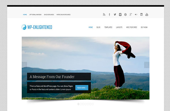 WP-Enlightened Premium WP Theme