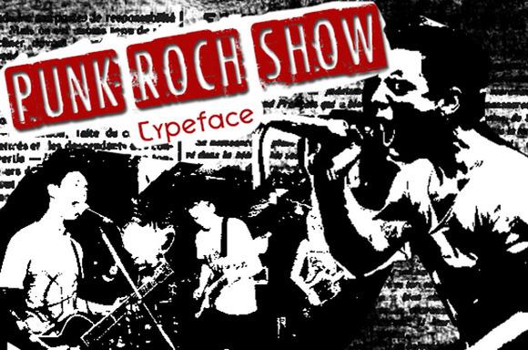 CF Punk Rock Show Font